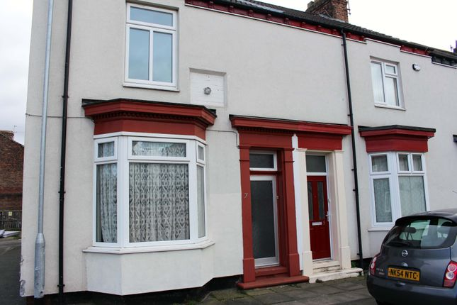 Thumbnail End terrace house to rent in Middleton Walk, Stockton On Tees