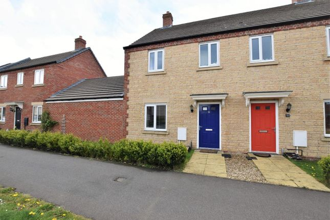 Thumbnail Semi-detached house for sale in Maresfield Road, Barleythorpe, Oakham