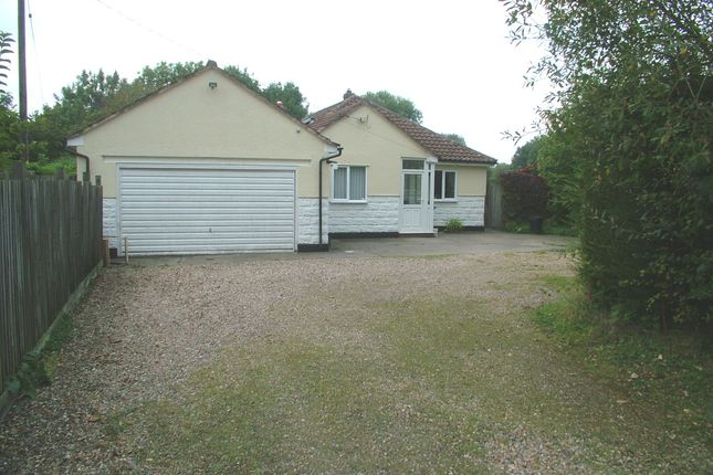Thumbnail Detached bungalow for sale in Forncett Station, Forncett St. Peter, Norwich