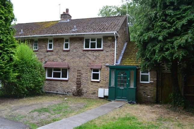 Thumbnail Semi-detached house to rent in Drayton Hall Cottages, Church Road, West Drayton