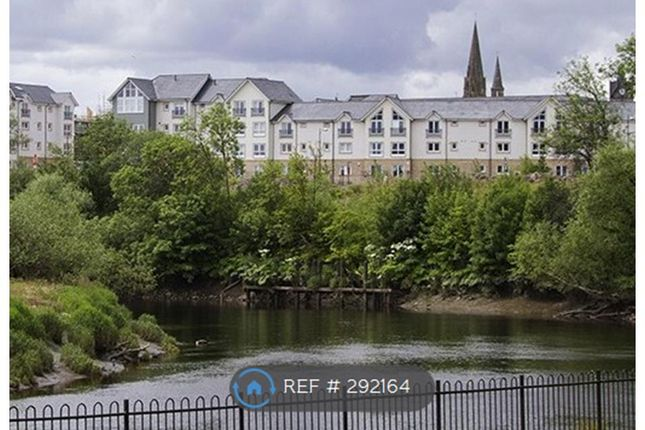 Thumbnail Flat to rent in Forthside, Stirling