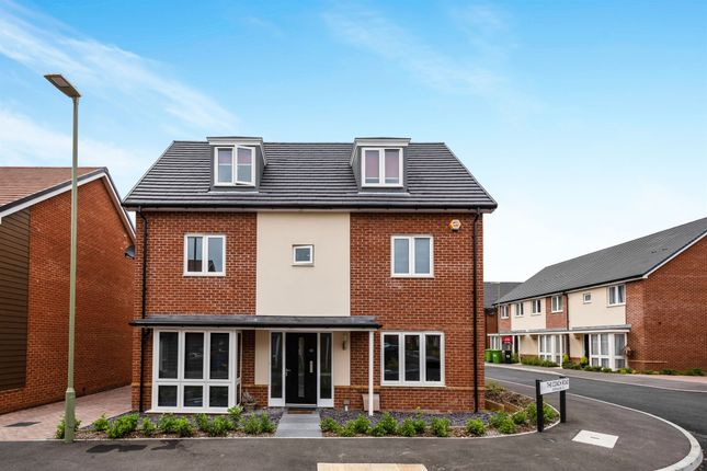 Thumbnail Detached house for sale in The Coach Road, Basingstoke