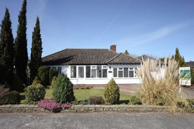 Thumbnail Detached bungalow for sale in Tudor Way, Heswall, Wirral