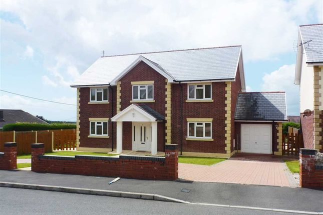 Thumbnail Detached house for sale in Clos Trefenty, Cefneithin, Llanelli