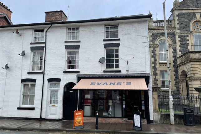 Thumbnail Terraced house for sale in Evans's Fish Bar, 24 China Street, Llanidloes, Powys