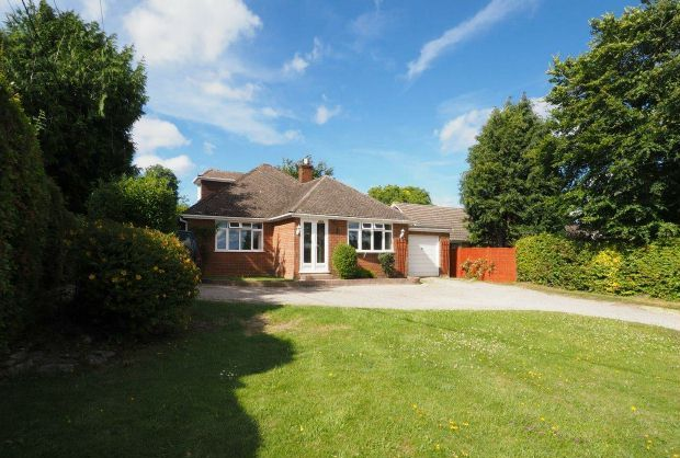 Thumbnail Detached house for sale in Firsdown, Salisbury, Wiltshire