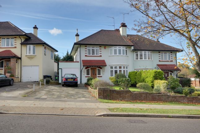 Thumbnail Semi-detached house for sale in Wades Hill, Winchmore Hill