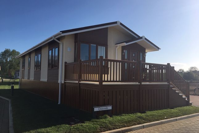 Thumbnail Mobile/park home for sale in Yarwell Mill Country Park, Peterborough
