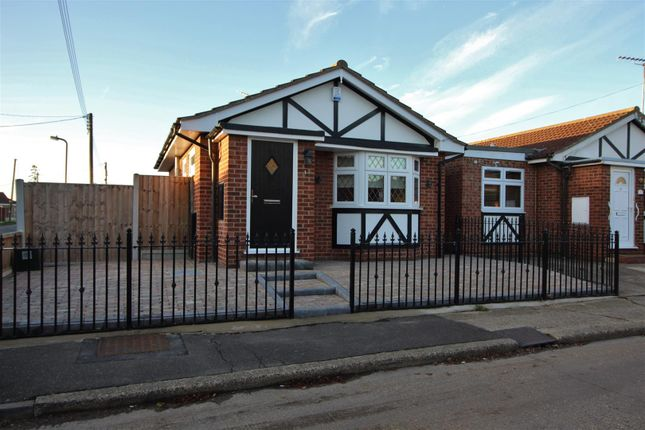 Thumbnail Detached bungalow for sale in Linde Road, Canvey Island