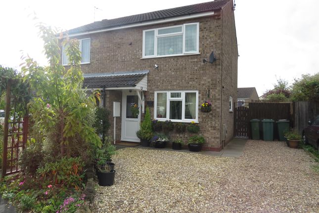 Thumbnail Semi-detached house for sale in Westleigh Road, Glen Parva, Leicester