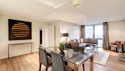 Thumbnail Flat to rent in 4B Merchant Square, London