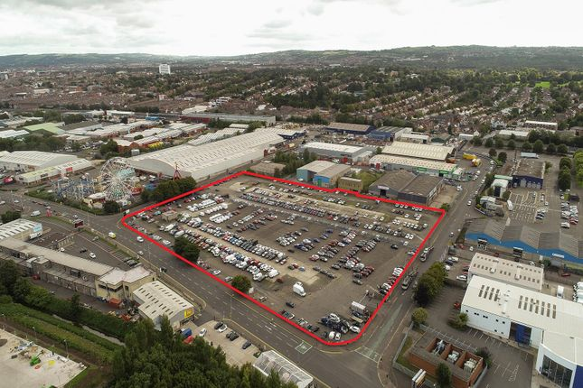 Thumbnail Land for sale in Former Balmoral Fruit Market, Boucher Road, Belfast, County Antrim