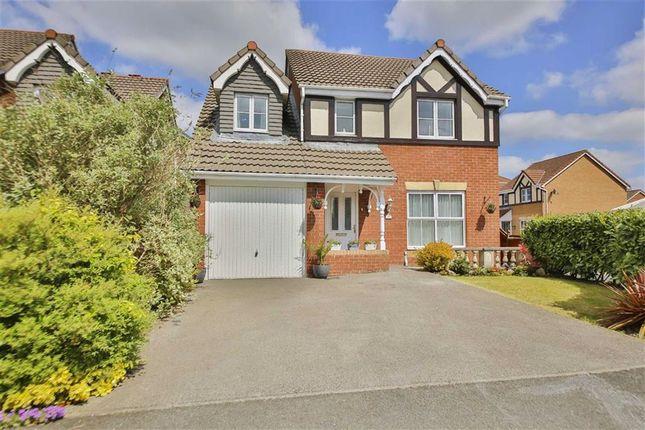 Thumbnail Detached house for sale in Mile Stone Meadow, Euxton, Lancashire
