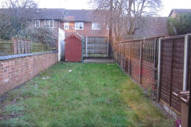 Rear Garden of Merchant Street, Derby DE22