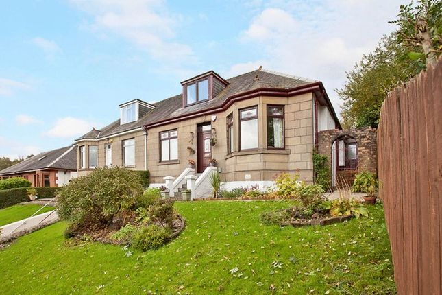 Thumbnail Semi-detached house for sale in Inverkip Road, Greenock