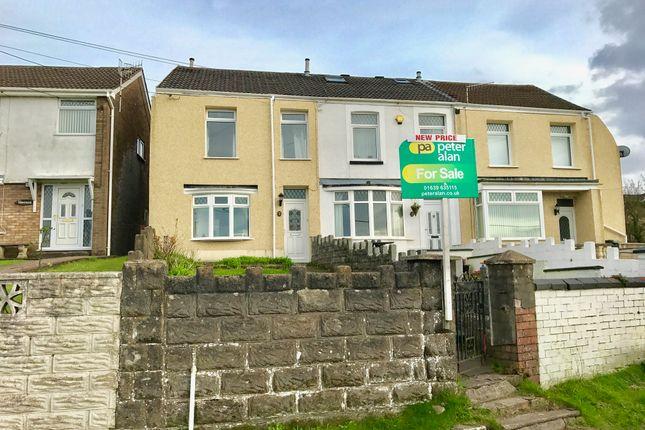 Thumbnail End terrace house for sale in Danygraig Road, Neath