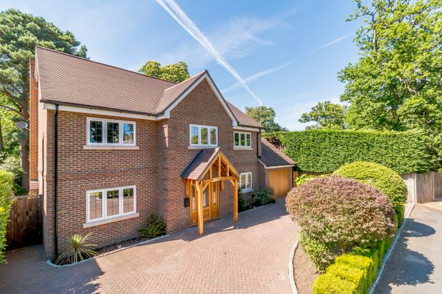 Thumbnail Detached house for sale in Pine Tree Hill, Woking
