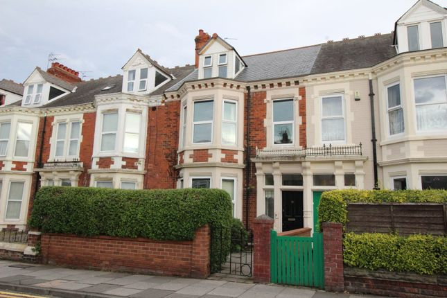 Thumbnail Terraced house for sale in Marine Avenue, Whitley Bay, Tyne And Wear