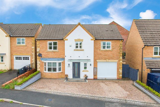 Thumbnail Detached house for sale in Chepstow Road, Corby