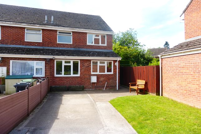 Thumbnail End terrace house for sale in St Peters Close, Moreton-On-Lugg, Hereford