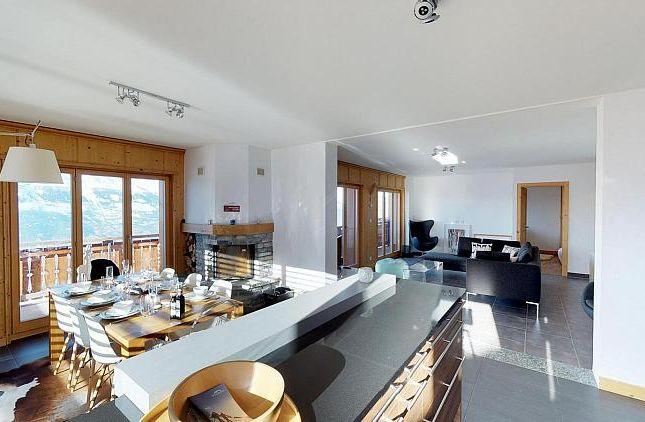 Thumbnail Apartment for sale in Les Hauts De Veysonnaz 11, Veysonnaz, Valais, Switzerland