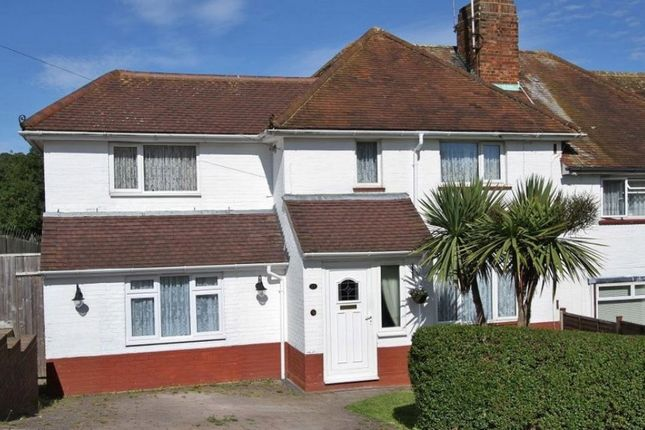 Thumbnail Semi-detached house to rent in Nanson Road, Brighton