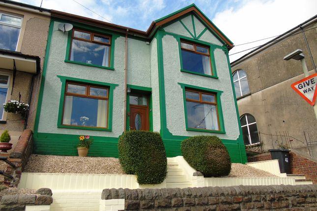Thumbnail Semi-detached house for sale in Mountain Ash Road, Abercynon, Mountain Ash