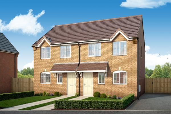 "Thumbnail Property for sale in ""The Maple At Porthouse Rise, Bromyard, Hereford"" at Lower Hardwick Lane, Winslow, Bromyard"