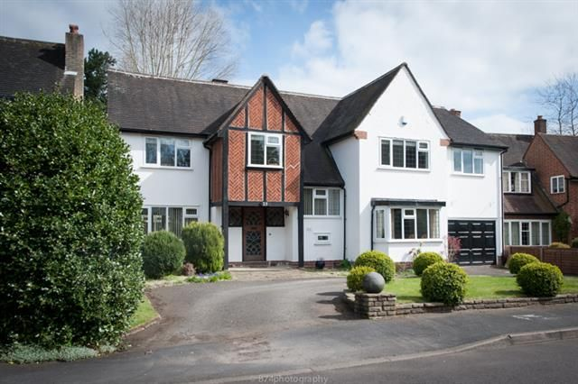 Thumbnail Detached house for sale in Oaklands Road, Four Oaks, Sutton Coldfield