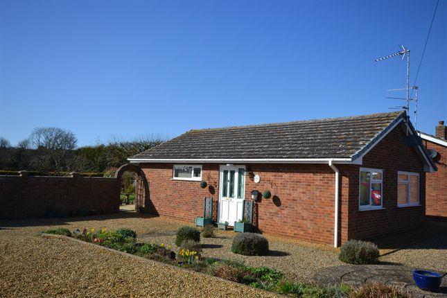 Thumbnail Detached bungalow for sale in Mallard Close, Snettisham, King's Lynn