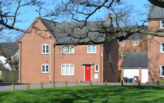 Thumbnail Semi-detached house for sale in Kestrel Close, Tiverton