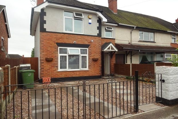 Thumbnail Terraced house to rent in Oakland Road, Walsall