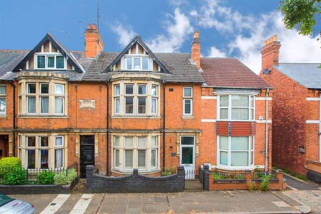 Thumbnail Town house for sale in Tennyson Road, Kettering