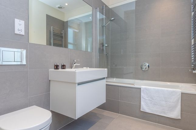 Typical Bathroom of King Street, London W6