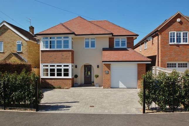 Thumbnail Detached house for sale in Rushmoor Avenue, Hazlemere, High Wycombe