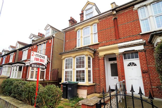 Thumbnail Semi-detached house for sale in Old Road West, Gravesend, Kent