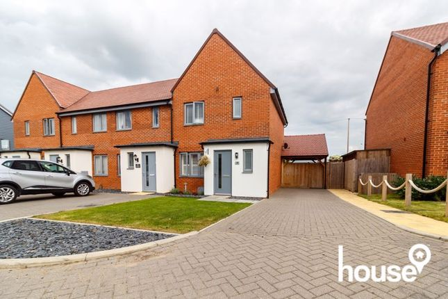 3 bed end terrace house for sale in Faraday Drive, Minster On Sea, Sheerness ME12