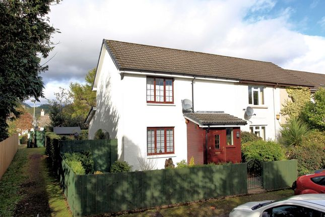 Thumbnail Terraced house for sale in Laggan Square, Comrie