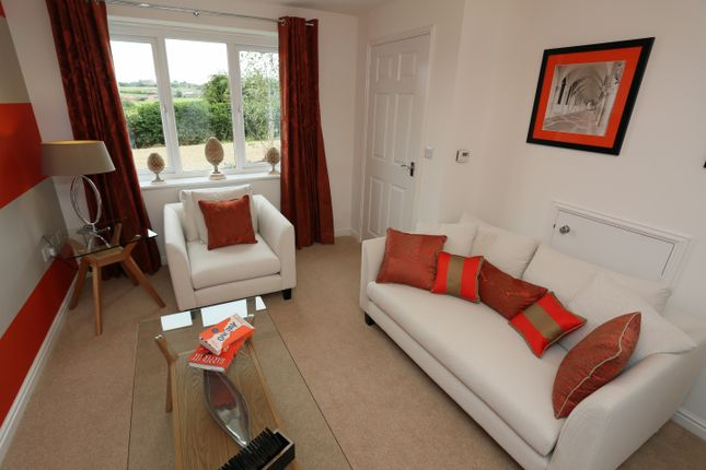 Thumbnail Semi-detached house for sale in The Fergus, Pont Lane, Leadgate