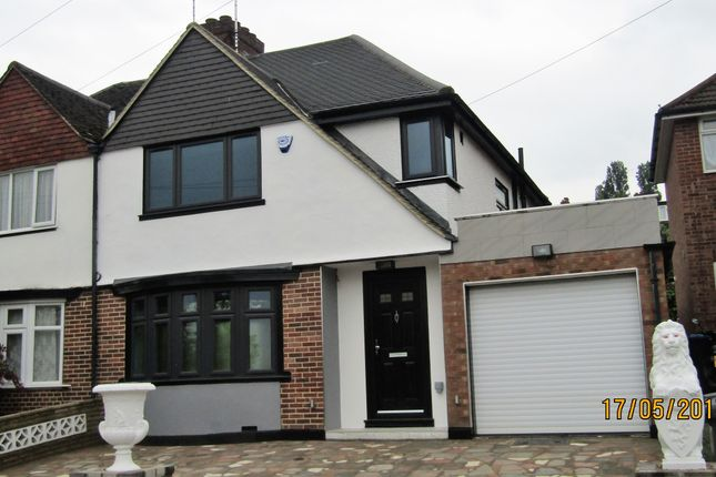 Thumbnail Semi-detached house for sale in Alverstone Road, Wembley Park
