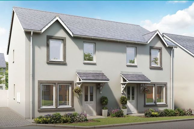 Thumbnail Semi-detached house for sale in The Kinkell, At The Clachan, Newton Of Charleston