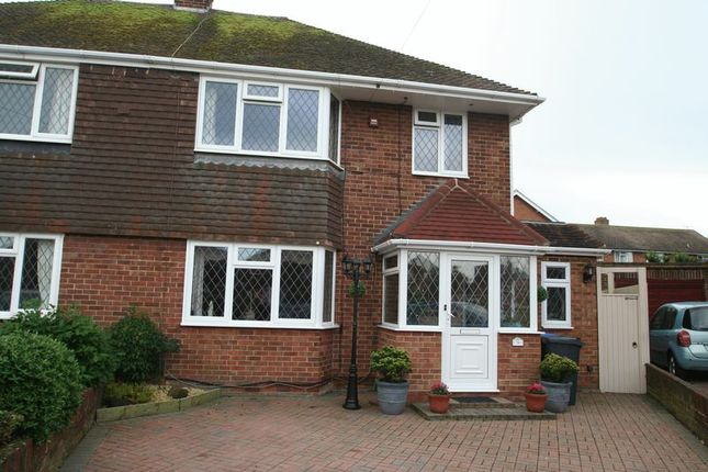 Thumbnail Semi-detached house for sale in Selkirk Close, Goring-By-Sea, Worthing