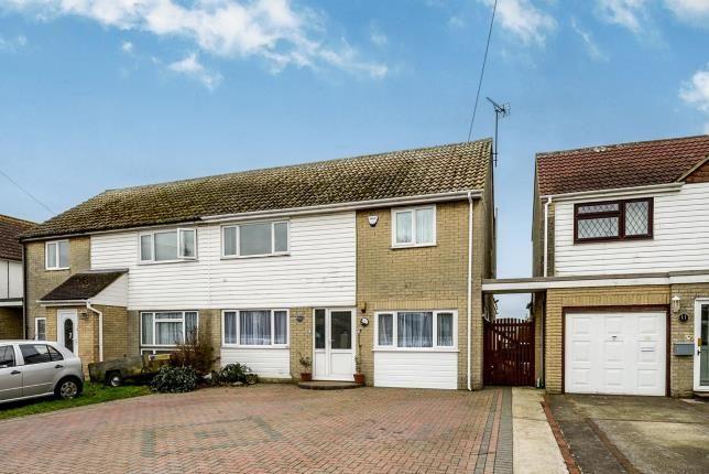 Thumbnail Semi-detached house for sale in Victoria Road West, Littlestone, Romney Marsh, Kent