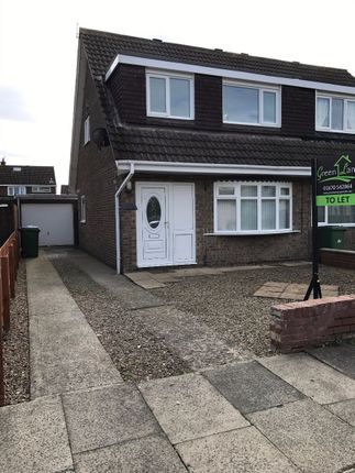 Thumbnail Semi-detached house to rent in Petrel Way, Blyth