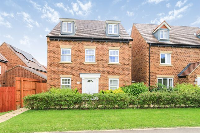 Thumbnail Detached house for sale in King Johns Walk, Rothwell, Kettering