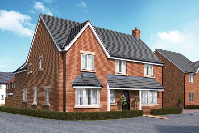 "Thumbnail Detached house for sale in ""The Brackley"" at Bromham Road, Bedford"