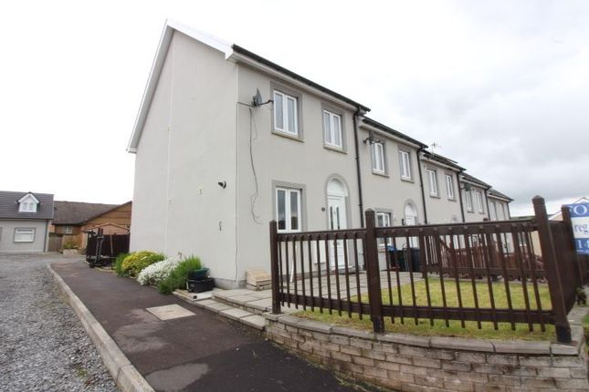 Thumbnail 3 bed terraced house for sale in Prince Llewellyn Court, Tredegar