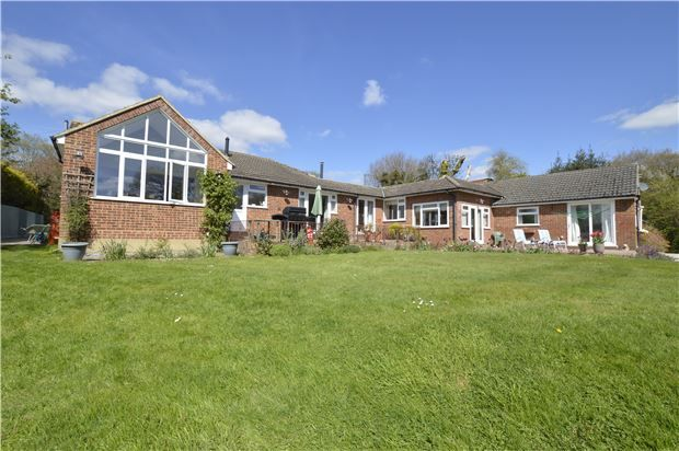 Thumbnail Detached bungalow for sale in Farmside, Fishponds Lane, Westfield, Hastings, East Sussex
