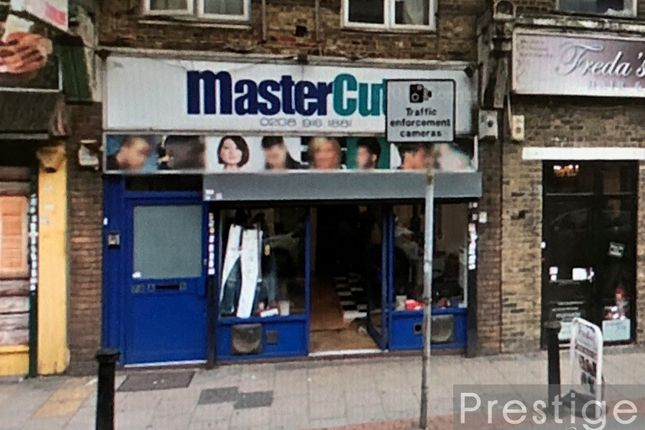 Retail premises to let in High Street, South Norwood
