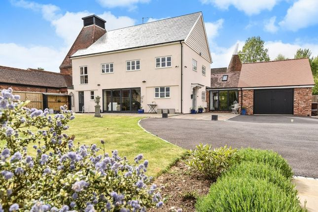 Thumbnail Link-detached house for sale in Lamberhurst Road, Horsmonden, Tonbridge